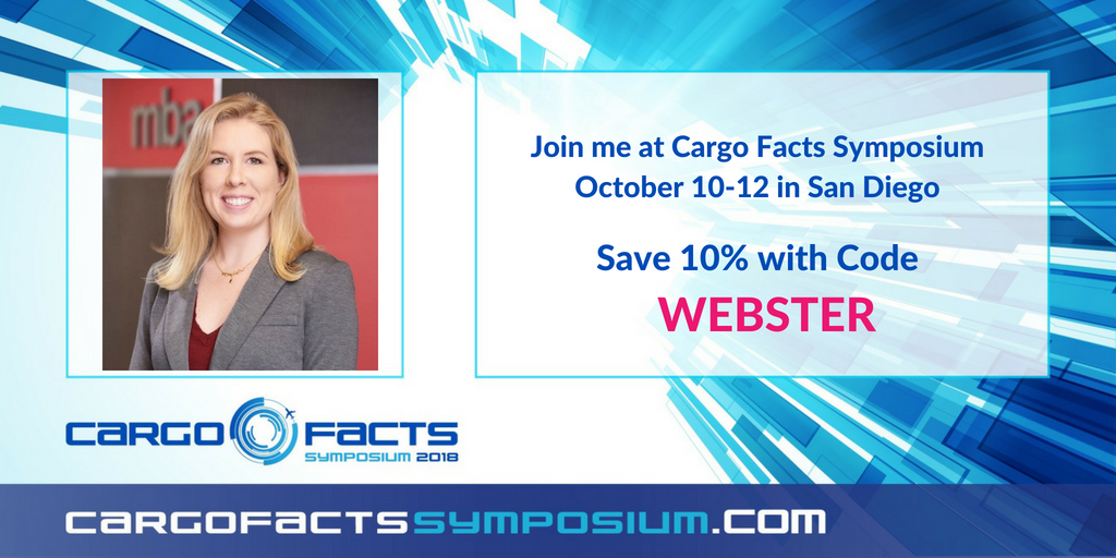 Lindsey Webster Moderates Appraisers Panel at Cargo Facts Symposium 2018